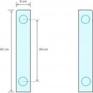 Комплект соединительных планок Candy WSK-1102