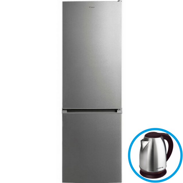 Двухкамерний холодильник CANDY CMDS 6182X