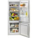 Отдельностоящий холодильник с нижней морозильной камерой Candy CMCL 5142WN; Стеклянные полки более устойчивы и лучше сохраняют свежесть; Возможность перенавешивания двери;  LED освещение