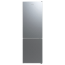 Отдельностоящий холодильник с нижней морозильной камерой Candy CVBNM 6182XP/SN; Система охлаждения - NoFrost не производит инея в морозильной камере; LED освещение с электронным управленим;