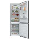 Отдельностоящий холодильник с нижней морозильной камерой Candy CVBNM 6182XP/SN; LED освещение с электронным управленим; Стеклянные полки более устойчивы и лучше сохраняют свежесть; Зона свежести