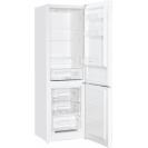 Стоїть окремо холодильник з нижньою морозильною камерою Candy CMDS 6182WN; LED освітлення з електронним керуванням; Скляні полиці більш стійкі і краще зберігають свіжість; Перенавішування дверей