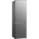 Стоїть окремо холодильник з нижньою морозильною камерою Candy CMDS 6182XN; Зручна ручка для відкриття дверей, велика кількість полиць для їжі, і внутрішнє LED освітлення з електронним керуванням
