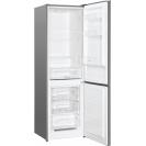 Стоїть окремо холодильник з нижньою морозильною камерою Candy CMDS 6182XN; LED освітлення з електронним керуванням; Скляні полиці більш стійкі і краще зберігають свіжість; Перенавішування дверей