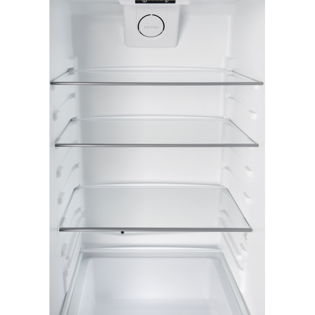 Встраиваемый холодильник с нижней морозильной камерой Candy CKBBS 172 F; LED освещение с электронным управленим; Металлическая стойка для бутылок; Ящик с телескопическими направляющими; Зона свежести