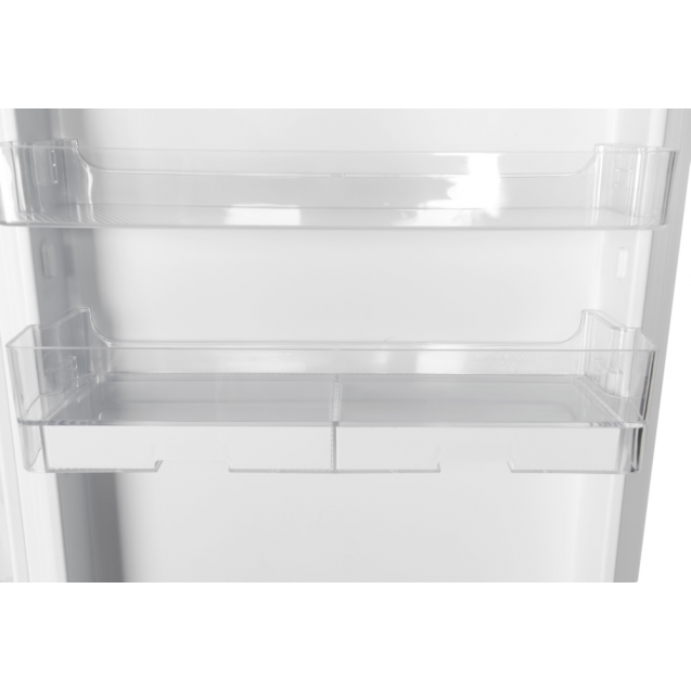 Встраиваемый холодильник с нижней морозильной камерой Candy BCBF 182 N; Комбинированная система охлаждения динамическая/NoFrost; Металлическая стойка для бутылок; Зона свежести; Дверные корзины