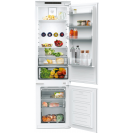 Вбудований холодильник з нижньою морозильною камерою Candy BCBF 192 F; Комбінована система охолодження статична / NoFrost; Металева стійка для пляшок; Ящик з телескопічними направляючими