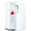 Стоїть окремо холодильник однокамерний з верхньою морозильною камерою Candy CCTOS 502WH09; Система охолодження статична; Модель з невеликими габаритами; LED освітлення з електронним керуванням