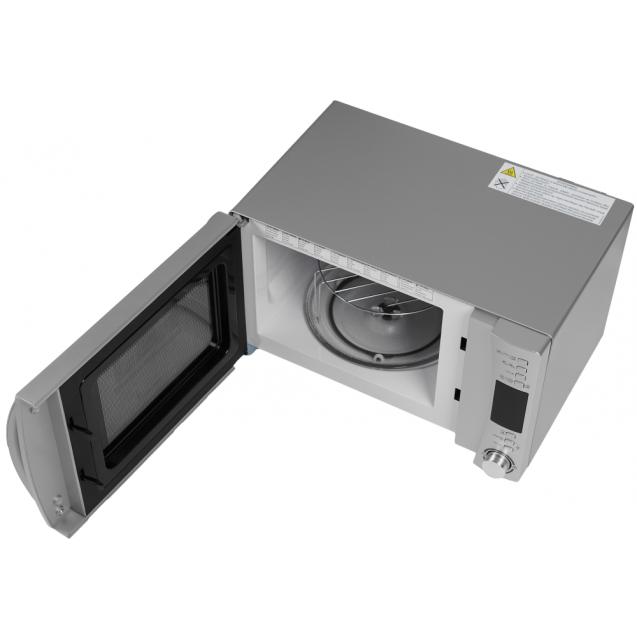 Отдельностоящая мікрохвильова піч Candy CMXG22DS; Потужність 800 Вт; Обсяг камери 22 л; Автоматичні програми; Гриль; Конвекція; Функція Eco і функція швидкого старту; таймер; Блокеровка від дітей