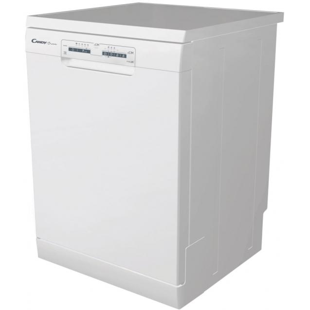 Повногабаритна окремостояча посудомийна машина Candy H CF 3C7LFW; Сушка посуду - конденсаційна; Кількість комплектів - 13; Антибактеріальний фільтр; Оптимізована сушка - Smart Door,