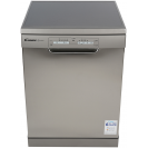 Повногабаритна окремостояча посудомийна машина Candy H CF 3C7LFX; Сушка посуду - конденсаційна; Кількість комплектів - 13; WiFi + Bluetooth дозволяє управляти процесом миття віддалено