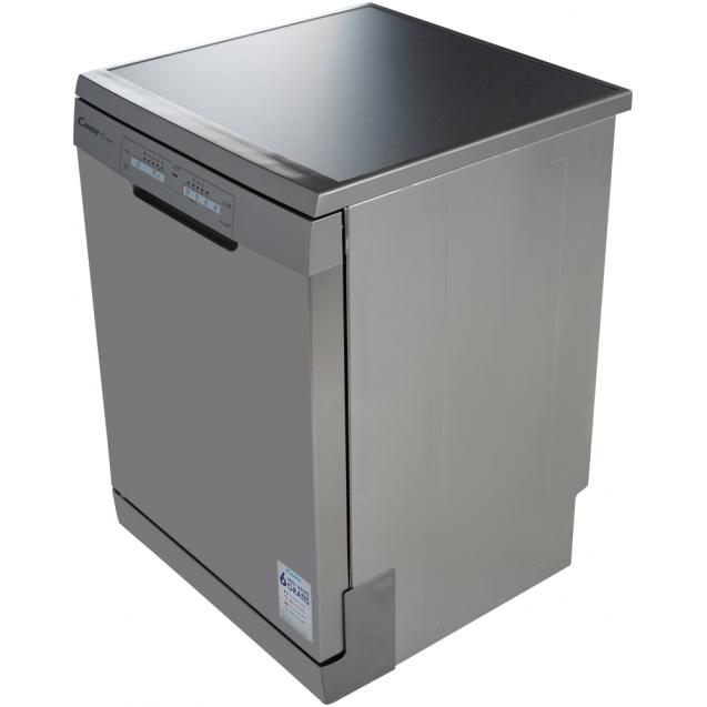 Повногабаритна окремостояча посудомийна машина Candy H CF 3C7LFX; Сушка посуду - конденсаційна; Кількість комплектів - 13; Антибактеріальний фільтр; Оптимізована сушка - Smart Door,
