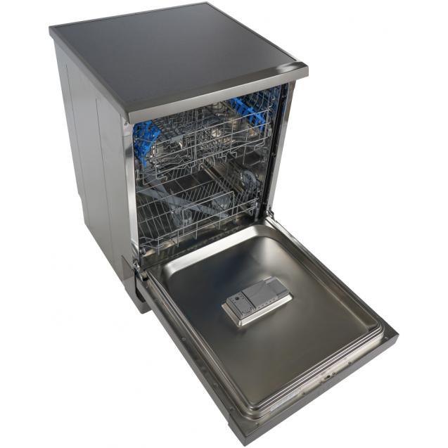 Повногабаритна окремостояча посудомийна машина Candy H CF 3C7LFX; Сушка посуду-конденсаційна; Кількість комплектів-13; Addish-функція, що дозволяє додавати посуд при запущеному циклі мийки