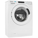Вузька пральна машина Candy CS34 1052D1 / 2-07, Максимальна швидкість віджиму - 1100 об / хв; технологія SMART TOUCH; вид праворуч, ребра жорсткості для поглинання значної частини вібрацій
