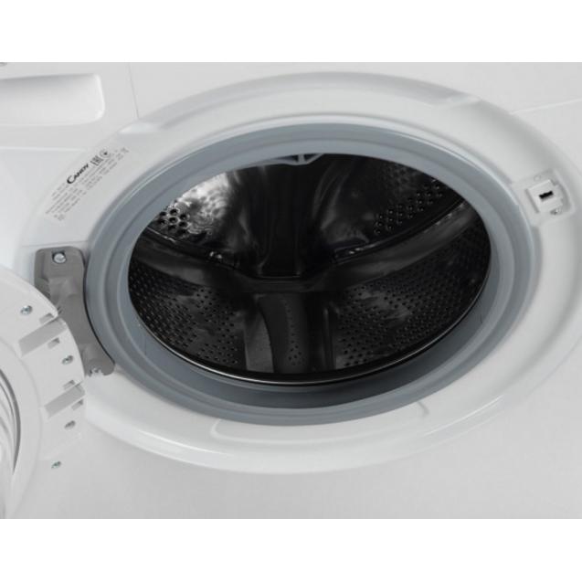 """Вузька пральна машина CS4 1051D1 / 2-07; максимальне завантаження - 5 кг; технологія SMART TOUCH; технологія - Кг детектор; Функція """"Статистика""""; Матеріал барабана - нержавіюча сталь"""
