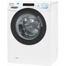 Вузька пральна машина CSS34 1062DB1-07; максимальне завантаження - 6 кг; Технологія SMART TOUCH і Кг детектор; 9 програм швидкого прання; вид зліва, ребра жорсткості для поглинання вібрацій