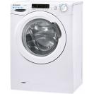 Вузька пральна машина CS4 1072DE / 2-S; максимальне завантаження - 7 кг; Технологія SMART TOUCH; Функція Гігієна +; Кг детектор; Режим EASY IRON; вид зліва, ребра жорсткості для поглинання вібрацій