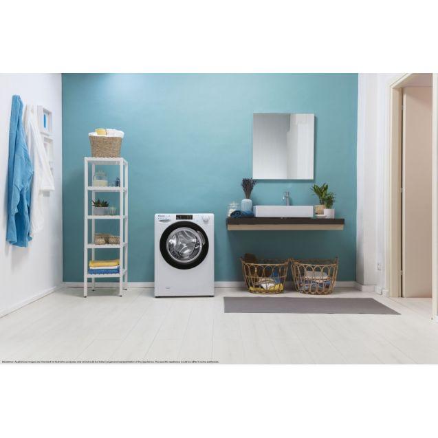 Вузька пральна машина CSO4 1175TBE / 1-S; максимальне завантаження-7кг; технологія SMART TOUCH; 9 режимів швидкого прання; технологія ACTIVE MOTION; гармонійно вписується в будь-який стиль інтер'єру
