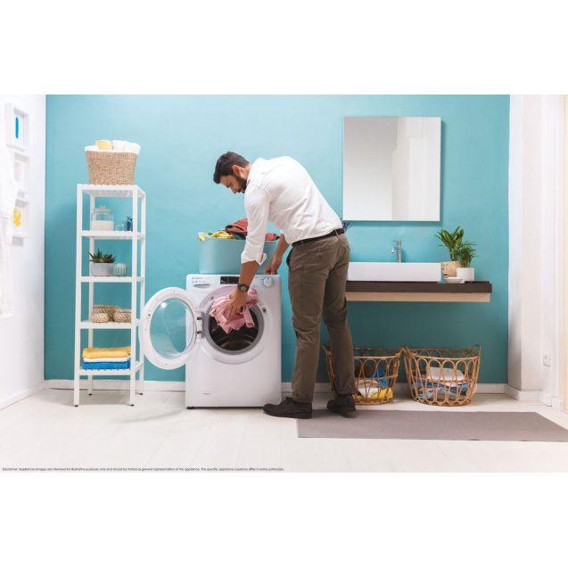 Вузька пральна машина повнорозмірна Candy CSO4 1075TE / 1-S; Максимальне завантаження - 7 кг; Технологія SMART TOUCH; 9 режимів швидкого прання; гармонійно вписується в будь-який стиль інтер'єру