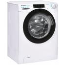 Вузька пральна машина CSO4 106TB1 / 2-07; максимальне завантаження-6 кг; Технологія SMART TOUCH і ACTIVE MOTION; Функція Статистика та Гігієна; вид праворуч, ребра жорсткості для поглинання вібрацій
