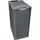 Вузька пральна машина Candy CSTG 28TVRE / 1-S; Максимальна швидкість віджиму-1200 об / хв; максимальне завантаження - 8 кг; Технологія Gentle Touch Opening - відкриття кришки одним дотиком