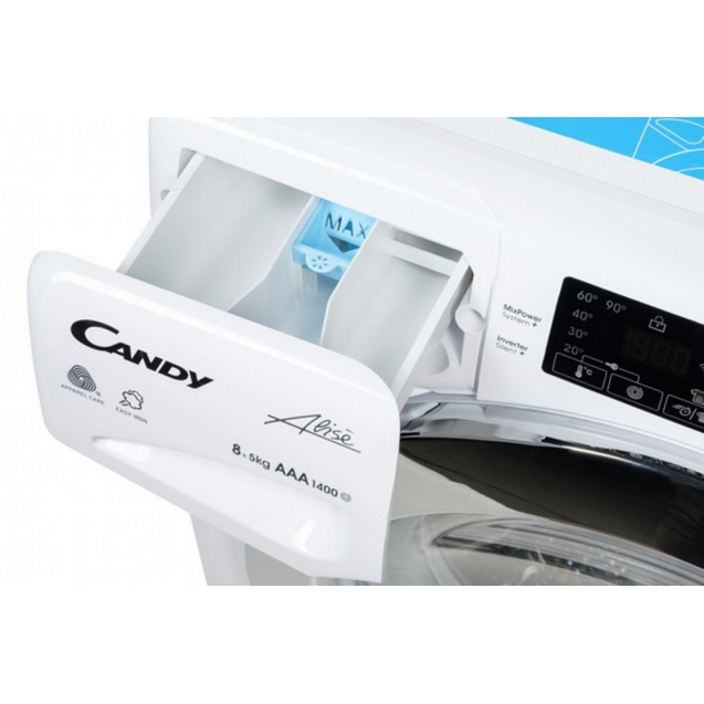Прально-сушильна машина Candy GVSW45485TWHC/5S зображення