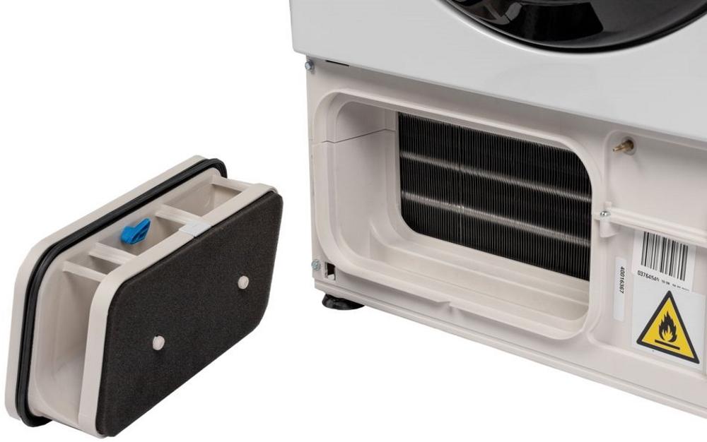 Вузька сушильна машина Candy CSO4 H7A1TBE-S з тепловим насосом; максимальне завантаження - 7 кг; Додаток Candy simply-Fi - більше 20 додатковий програм; Цикли сушки на будь-який смак; EASY IRON
