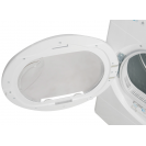 Сушильная машина полноразмерная Candy CSO H8A2TE-S с тепловым насосом;  Приложение Candy simply-Fi - дополнительный программы; Большой и удобный загрузочный люк; Съемная емкость для сбора конденсата