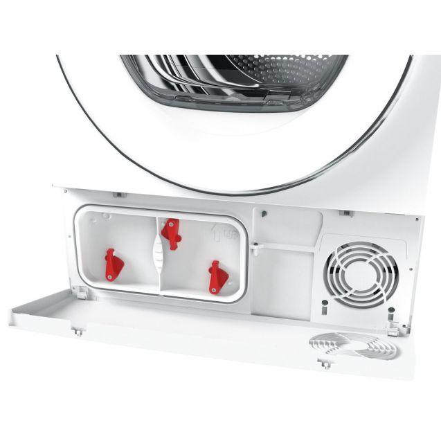 Вузька сушильна машина Candy RO4H7A1TCEX-S з тепловим насосом; максимальне завантаження-7 кг; Додаток Candy simply-Fi - більше 20 додатковий програм; Гармонійно вписується в будь-який стиль інтер'єру
