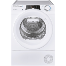 Сушильна машина повнорозмірна Candy ROE H8A2TE-S з тепловим насосом; максимальне завантаження - 8 кг; Додаток Candy simply-Fi - додатковий програми; Програми швидкого прання та сушіння; EASY IRON
