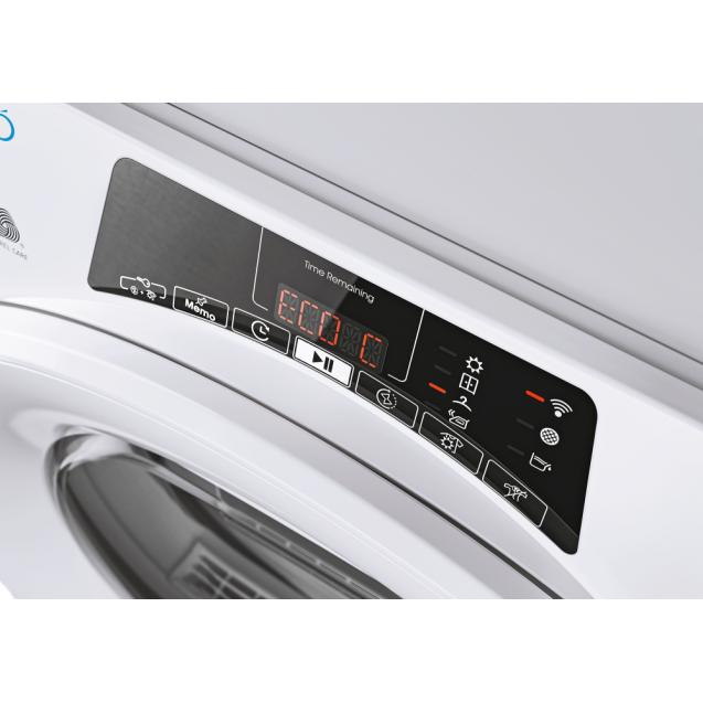 Сушильна машина повнорозмірна Candy ROE H8A2TE-S з тепловим насосом; максимальне завантаження - 8 кг; Додаток Candy simply-Fi - додатковий програми; Зрозуміла і зручна панель управління
