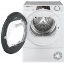 Сушильна машина повнорозмірна Candy ROE H8A2TCEX-S з тепловим насосом; максимальне завантаження-8 кг; Програми швидкого прання та сушіння; Суперлегка прасування; Великий і зручний завантажувальний люк
