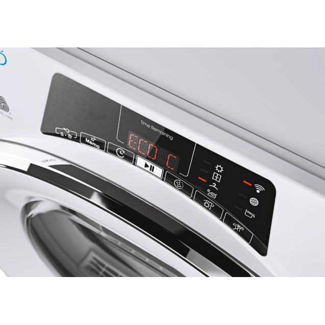 Сушильна машина повнорозмірна Candy ROE H8A2TCEX-S з тепловим насосом; максимальне завантаження-8 кг; Програми швидкого прання та сушіння; Суперлегка прасування; Зрозуміла і зручна панель управління