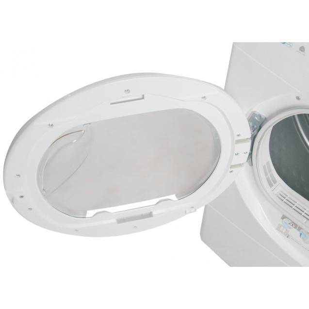 Сушильна машина повнорозмірна Candy CSOE H8A2TE-S з тепловим насосом; максимальне завантаження - 8 кг; Додаток Candy simply-Fi - додатковий програми; Знімна ємність для збору конденсату
