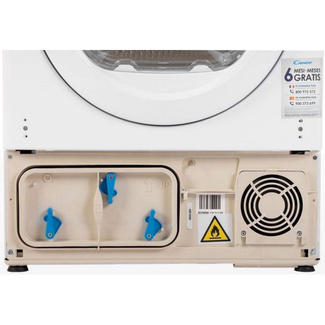 Вузька вбудована сушильна машина Candy RO 1496DWME / 1-S з тепловим насосом; максимальне завантаження - 7 кг; Додаток Candy simply-Fi - додатковий програми; Суперлегка прасування