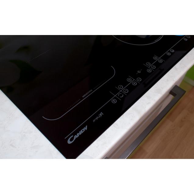 Індукційна варильна поверхня Candy CFID 36 WiFi; Підключення до WiFi; склокераміка; Захист від переливу; Сенсорне управління - просте, зрозуміле і максимально комфортне управління