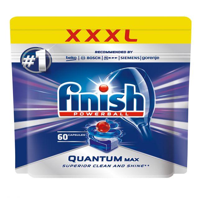 Капсули для посудомийної машини FINISH QUANTUM Max 60шт.