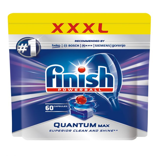 Капсули для посудомийної машини Finish 60 штук