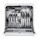 Посудомийна машина CDCP 8/E всередині