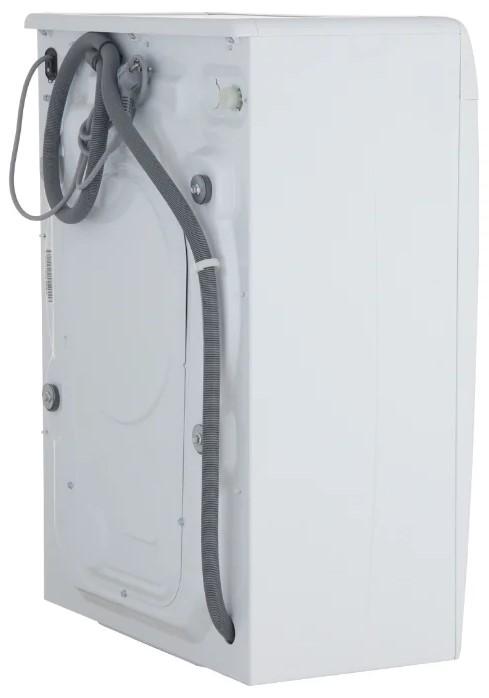 Узкая стиральная машина Candy CS34 1051D1/2-07; Максимальная скорость отжима - 1000 об/мин; максимальная загрузка - 5 кг, технология SMART TOUCH, длинна сливного шланга - 130 см