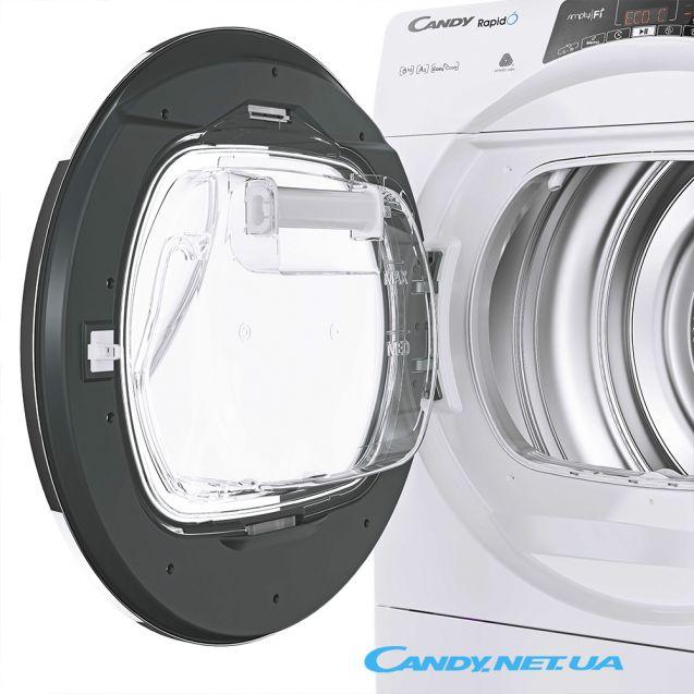 Сушильна машина Candy RO H8A2TCEX-S бак